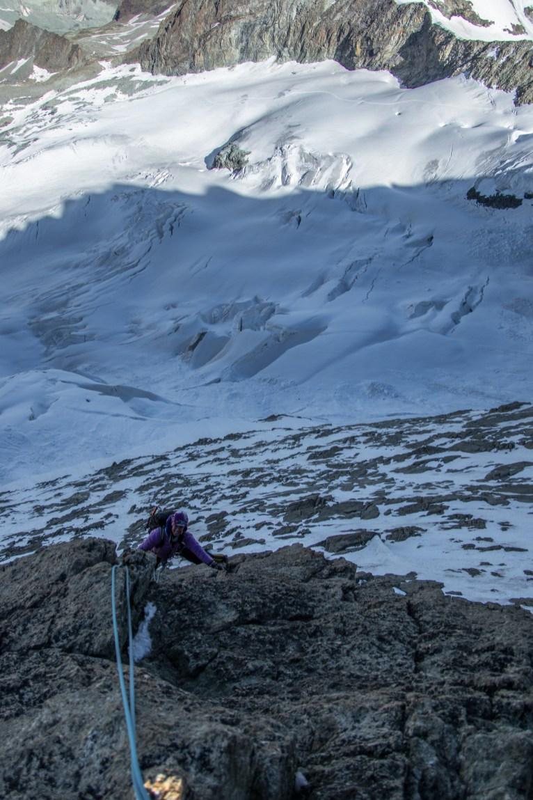 Contournement versant Mountet