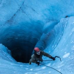 Dans les moulins de la mer de glace