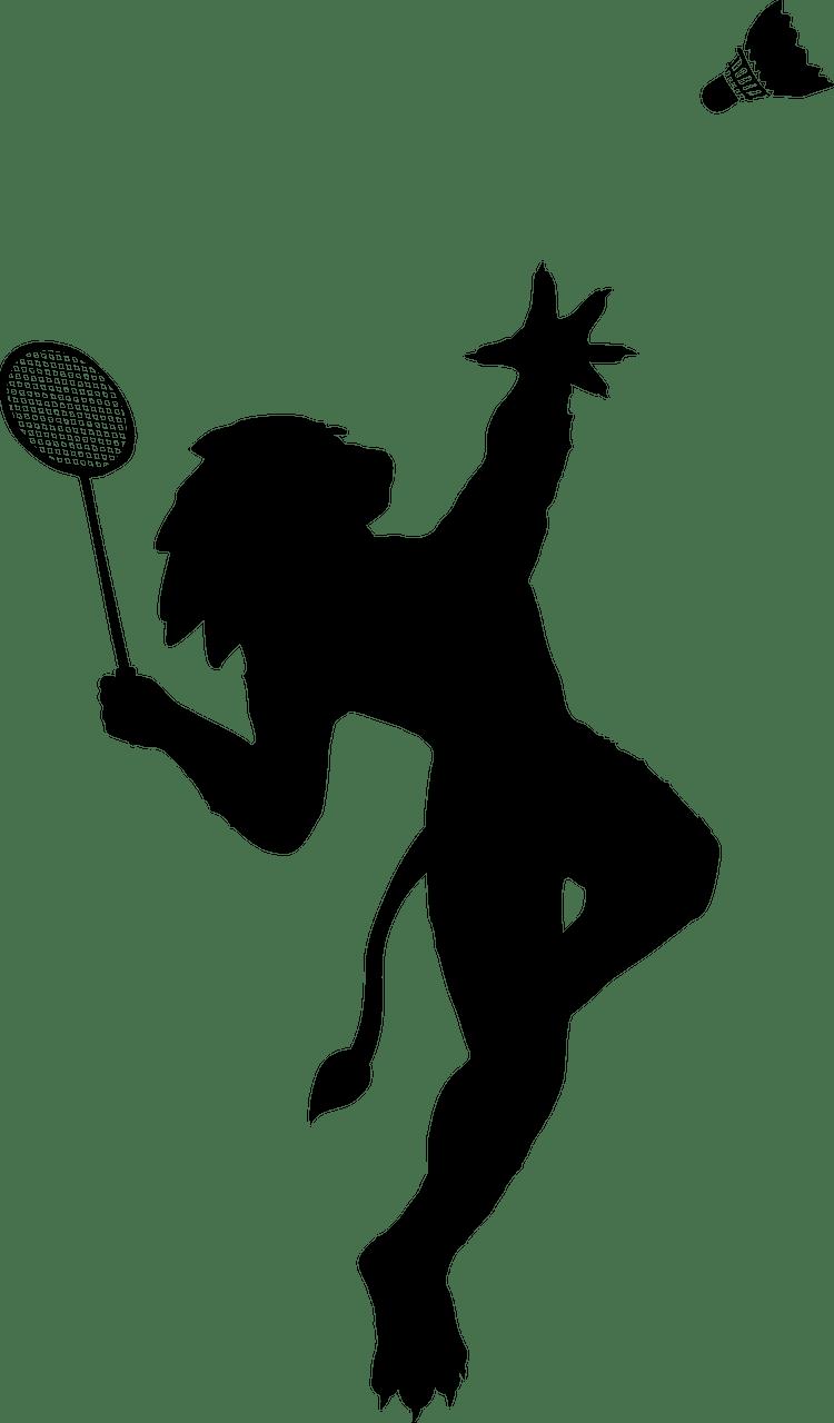 passion badminton logo
