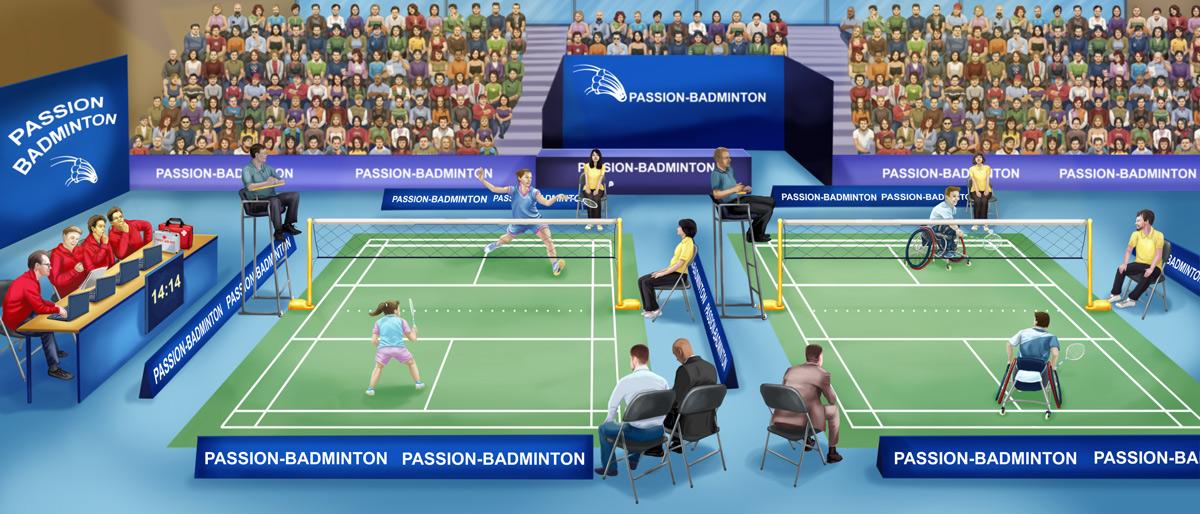 passion badminton couverture