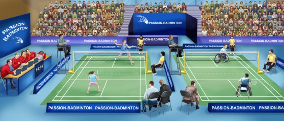 passion badminton couverture