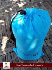 cadeaux joueurs badminton pouf gonflable