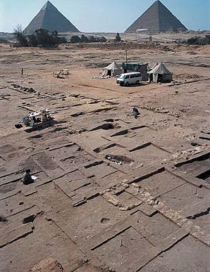 Qui A Construit Les Pyramides : construit, pyramides, Cité, Secrète, Pyramides