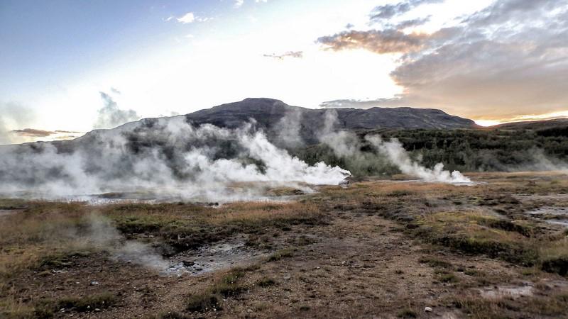 Visite guidée en Islande, site de Geysir dans le Cercle d'Or