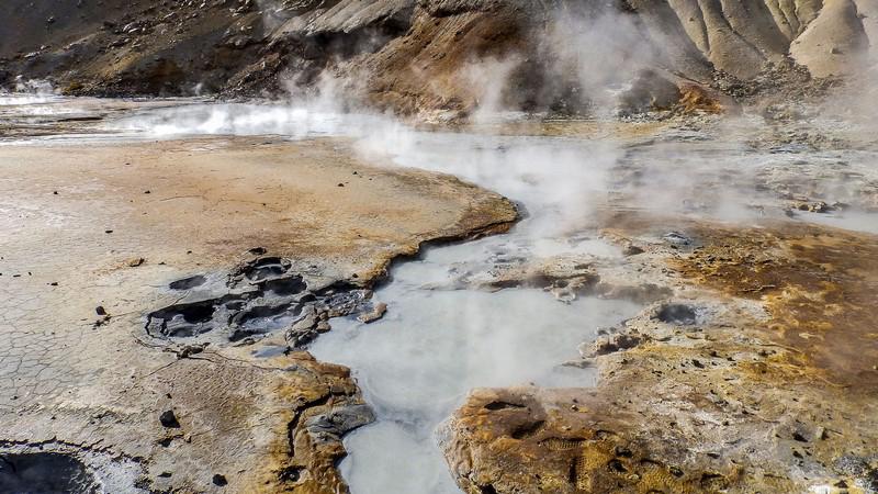 Circuit guidé Islande au printemps, tour de la péninsule de Reykjanes, site de Krisuvik