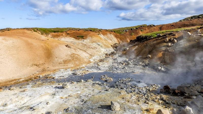Circuit guidé dans le Sud et l'Est, découverte du site de Reykjanes