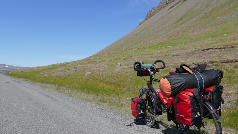 En Islande à vélo de la pénisule de Snaefellsnes aux Westfjords