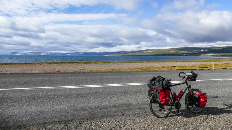 En Islande à vélo dans les fjords de l'Ouest ou Westfjords