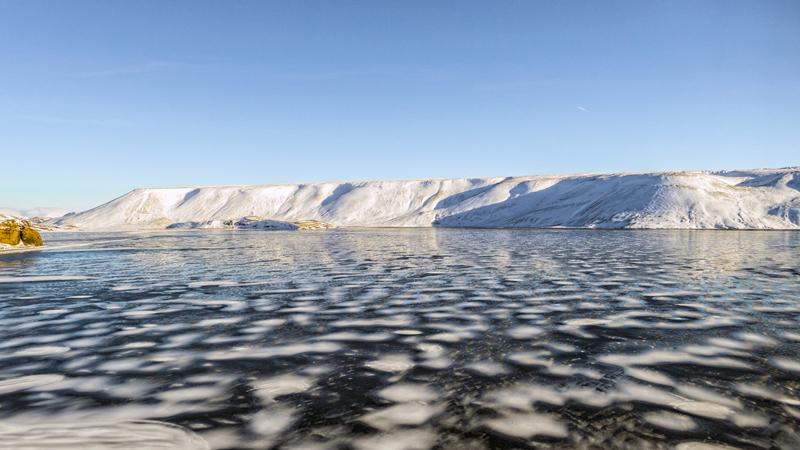 Circuit en Islande aux abords du lac Kleifarvatn