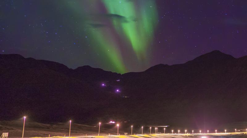 Climat et phénomènes naturels, le blog : aurore boreale dans le Nord de l'Islande
