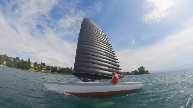 bateaux à voile gonflable