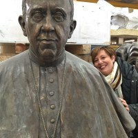MadeinPistoia : guess who? Pope Francesco & me!