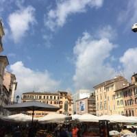 Roma : Campo dè Fiori & its colours