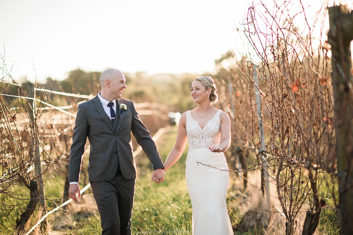Immerse Yarra Valley wedding happy couple
