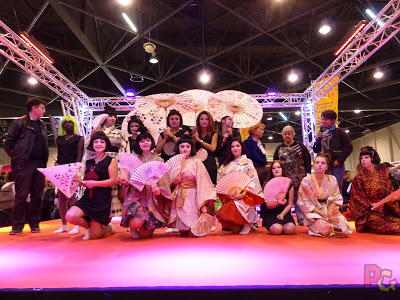 Défilé kimono