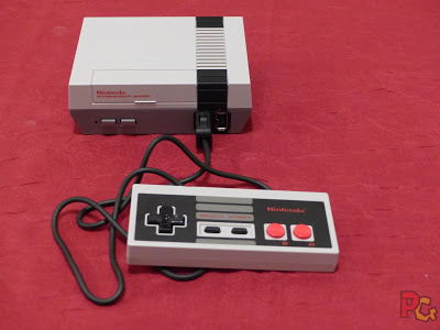 Unboxing mini-NES