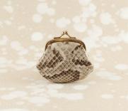 Vintage Portemmonaie Schlangenleder