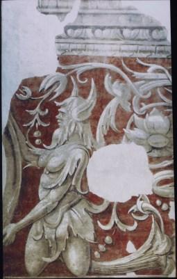 L'affresco originale staccato ora al Museo Civico di Vigevano