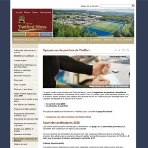 Symposium de peinture Thetford Mines