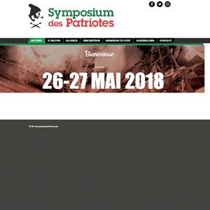 Symposium des Patriotes Saint-Eustache