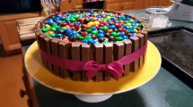 The cake I made for Rachael