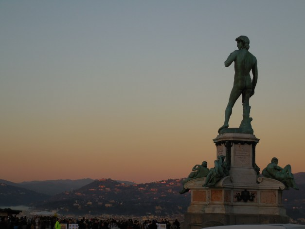 David in the Piazzale Michelangelo