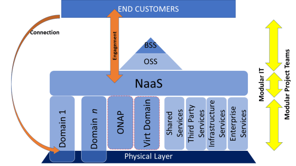 Networks become Agile with NaaS (the NaaS model)