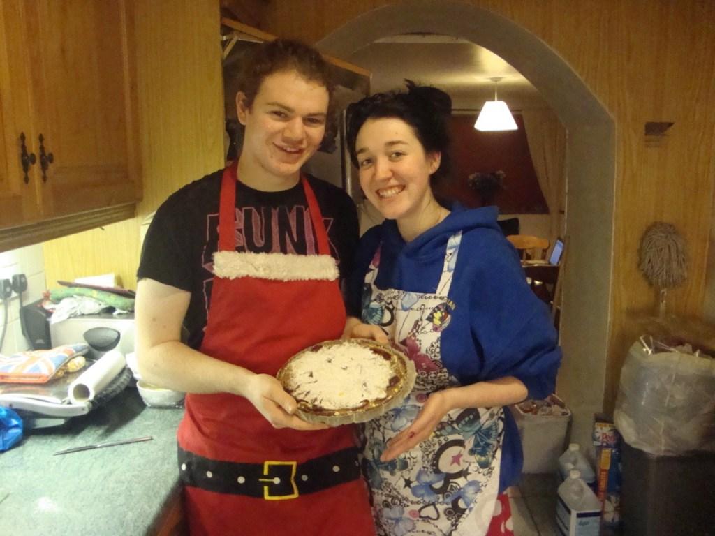 julia child's tarte normande aux pommes