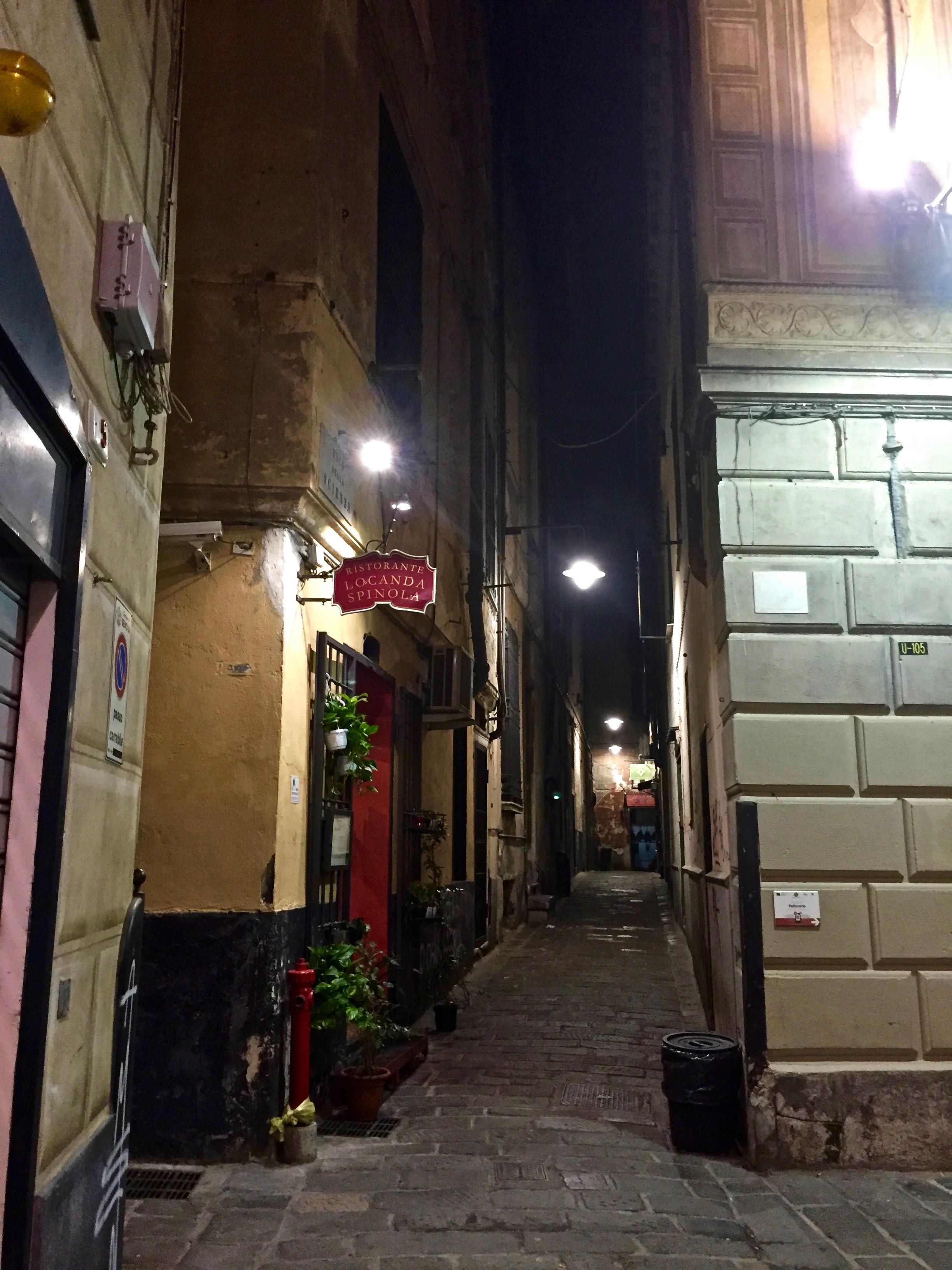 Genoa historical centre