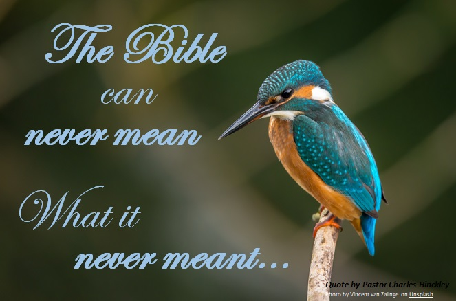 What the Bible Means