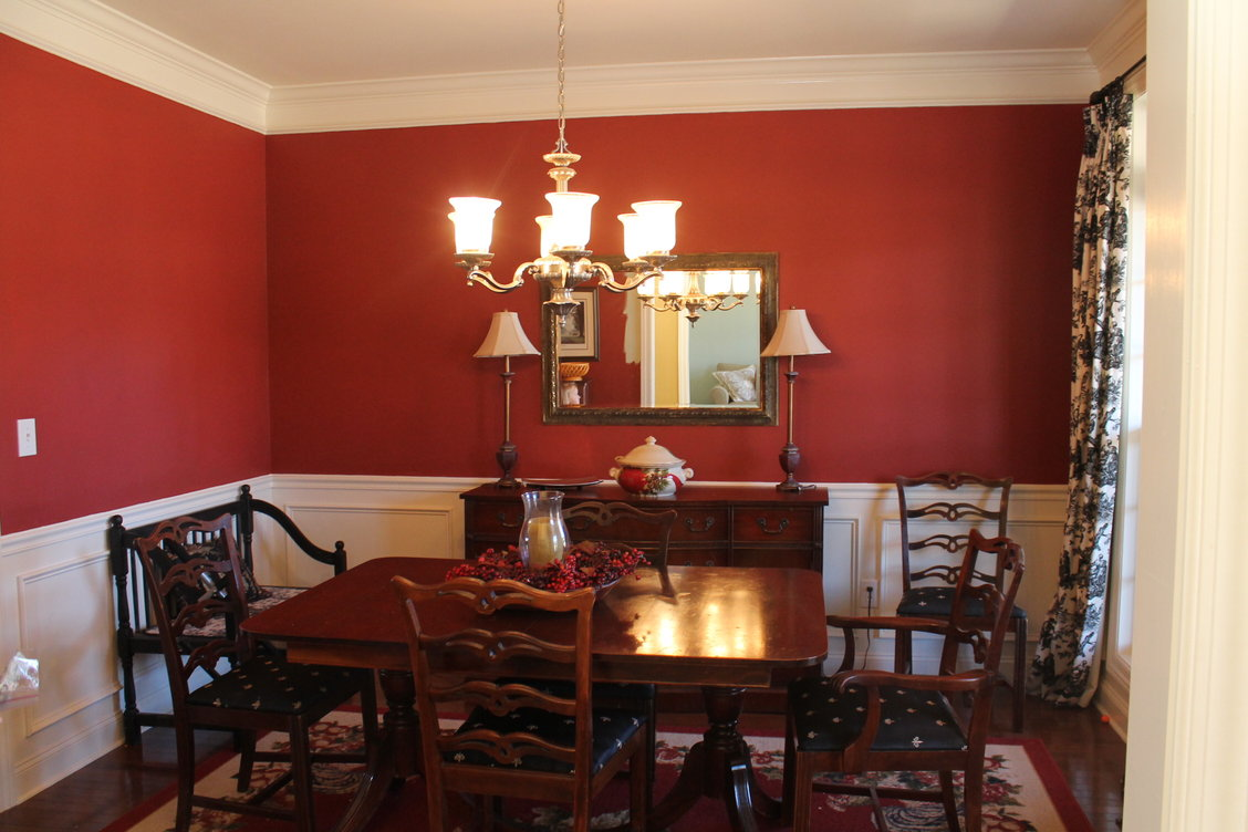 Victorian dining room painting for Dining room paintings