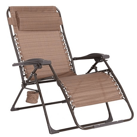 sonoma anti gravity chair review osaki massage kohl s outdoors oversized antigravity 42 49 shipped regularly 179 99