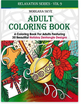 Free EBook Download Christmas Adult Coloring Book