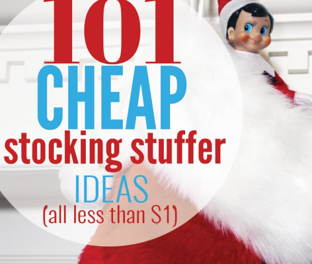 Cheap Stocking Stuffer Ideas For The Whole Family Stocking Stuffers Can Easily Cost A