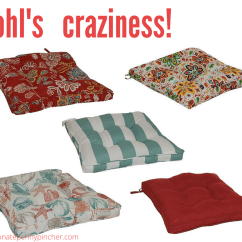 Outdoor Chair Cushions Sale Folding Chairs Kohls Sonoma Goods For Life Only 9 74 Memorial Day 2 6