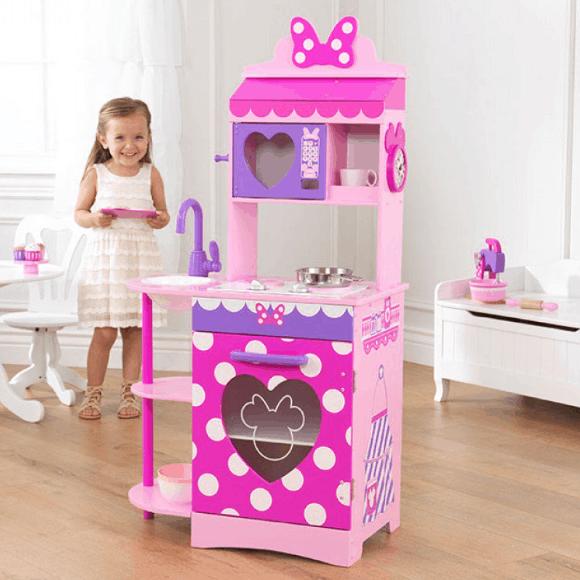 KidKraft Disney Jr Minnie Mouse Toddler Kitchen Play 76