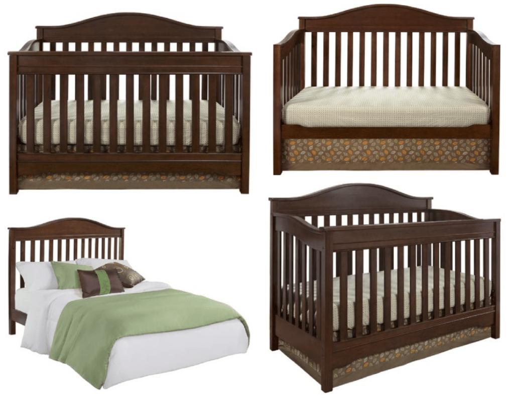 Eddie Bauer 3-in-1 Convertible Crib $136.26