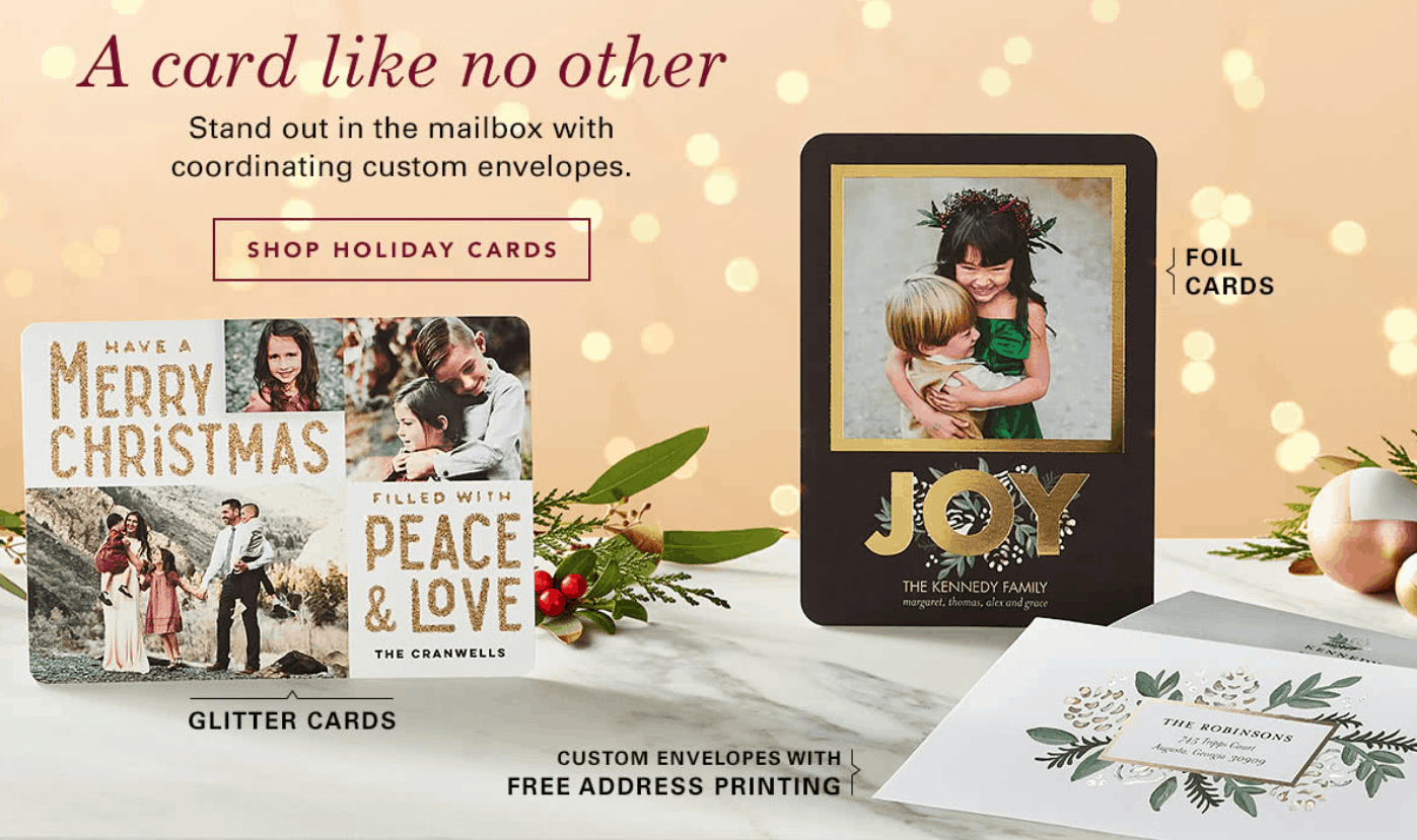 10 Free Cards From Tiny Prints Passionate Penny Pincher