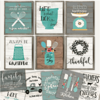 Rustic Cozy Kitchen Art Prints $2.97 | Passionate Penny ...