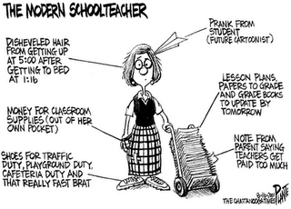 The Overwhelming Responsibilies of the Modern Teacher