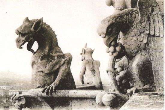 Gargouille Notre-Dame de Paris - 1