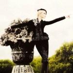 Karl Lagerfeld à versailles pour Harper's Bazaar Romania