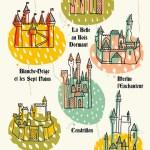 Illustrations – Les Chateaux Disney