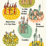 Illustrations – Les Chateaux Disney