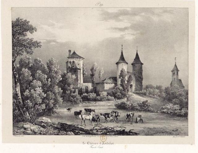 Le château d'Andelot-Morval