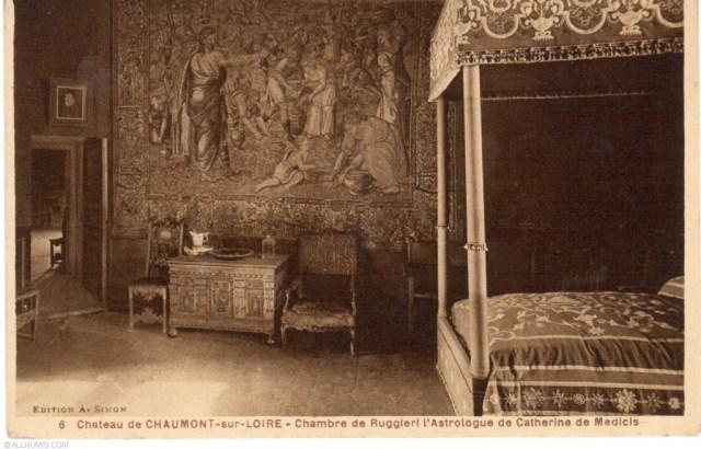 Château de Chaumont sur Loire - La Chambre de Ruggieri