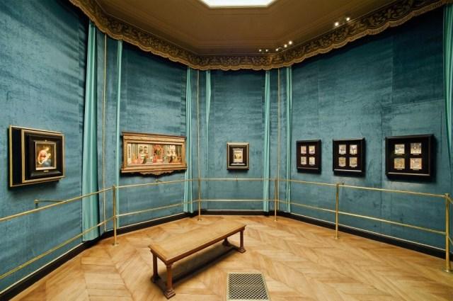 le Santuario (salle avce les chefs-d'oeuvre du Duc d'aumale)