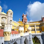 Palais de Pena extérieur- Lisbonne