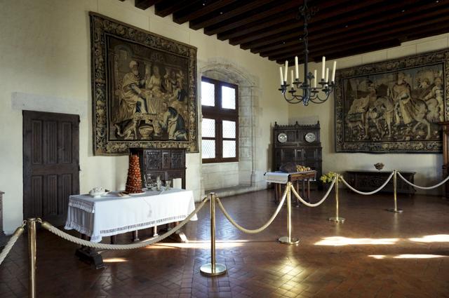Salle de l'Echanson  - Château d'Amboise