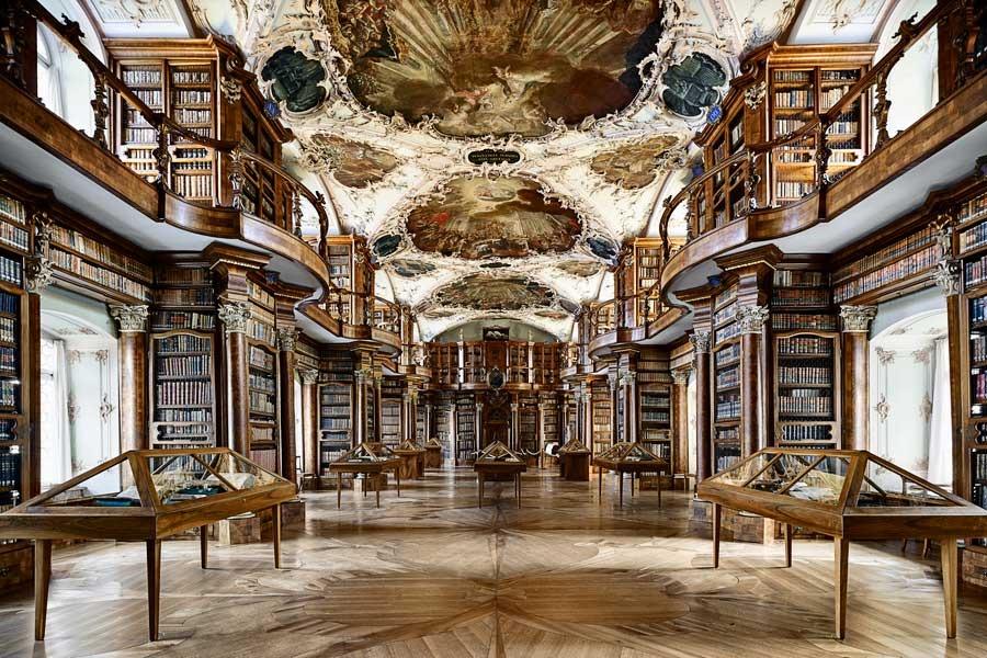 St Gallen : Cathédrale et Bibliothèque - #passionchateau
